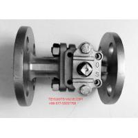 """PN16 Hand Operated Two Way Ball Valve 2"""" Locking Flange Type For Water"""