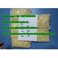 China 5cladba Pure Research Chemicals 5CL-ADB-A yellow color purity 99.9% powder raw materials for research on sale