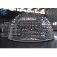 Wholesale Outdoor Transparent Inflatable Dome Tent For Mobile Hotel / Clear Igloo Tent from china suppliers