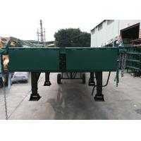 10 Ton Capacity Truck Mobile Loading Ramp 4 Legs Container With Hydraulic System