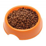 China Anti Skid Natural Straw Plastic Slow Feed Dog Bowl Eco Friendly High Polish Finish for sale