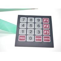 China Quake Proof Custom Membrane Switches , Electrical Membrane Switch Keypad on sale