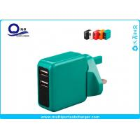 International Worldwide USB Travel Charger With Safety Shutter 56 X 56 X 26mm