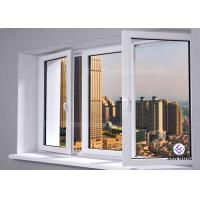 Wholesale Outward / Inward Open Aluminum Casement Windows , Clear Tempered Glass Window from china suppliers