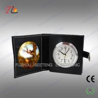 Fashion Travel alarm Clock with Photo Frame for both retailing and promoting