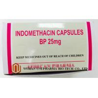 Wholesale Indomethacin 25 Mg Capsule Finished Medicine , Rheumatoid Arthritis Treatment Pain Killer Medicine from china suppliers