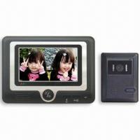 Wholesale 4-wire Handsfree Color Video Doorphone with 7-inch TFT-LCD Screen from china suppliers