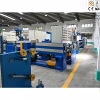 China Electric Copper Wire Cable Extrusion Machine For LDPE / Nylon / Plastic for sale