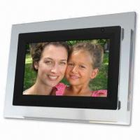 Wholesale 7-inch Digital Photo Frame, Supports USB1-1 with Remote Control from china suppliers