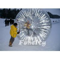 China 2014 Popular Inflatable Zorb Ball , Glow Zorb Ball , Fluorescent Roller Ball TPU / PVC Material on sale