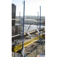 Q235 Steel Slab Shuttering System Guarding Railing Post For Steel Work Safety