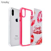 Buy cheap Pink IPhone X Bumper Case from wholesalers