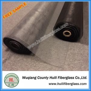 20x20 Mesh 1m x 30m Roll Gray PVC coating Plain Woven Fiberglass Insect Screen