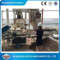 Wholesale 90kw Vertical Ring Die Wood Sawdust Biomass Fuel Pellet Machine from china suppliers