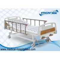 China Handicapped Nursing Manual Hospital Beds Double Function Home Care on sale