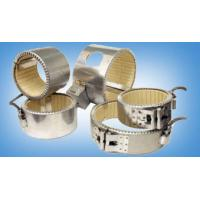Wholesale Industrial Ceramic Band Heater with thermal isolator for chemical engineering and fiber from china suppliers
