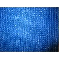 Blue Privacy Fence Netting , Hdpe Anti UV Screen Net Safety Barrier