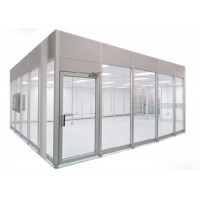 Wholesale 220V 60HZ Prefab Cleanroom Booth / Class 100 Softwall Modular Cleanrooms from china suppliers