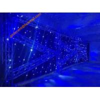 Flexible LED Curtain Led Backdrops LED Curtain Wall for Stage Customized Sizes Warm White Color