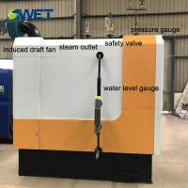 Low nitrogen 100kg small heating industrial automatic feeding wood boiler