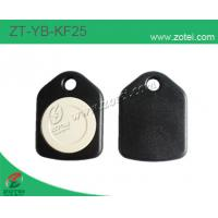 Wholesale ABS key tag/keyfob/keyring,Model:ZT-YB-KF25,black white from china suppliers