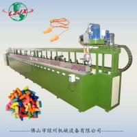 China Pu injection foam automatic production line for sleeping earplugs protector for sale
