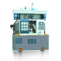Best Rotary Indexed Table Lathe Turning Machine , Drilling Tapping Machine Vertical Two Spindle wholesale