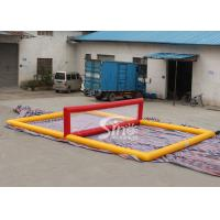 Wholesale Mobile giant floating inflatable water volleyball court for kids N adults water entertainments from china suppliers