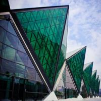 Wholesale Energy saving soundproof reflective nsulated glass curtain wall from china suppliers