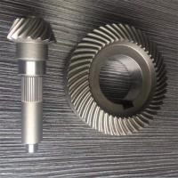 Wholesale Brass Plastic Iron Micro Worm Gear Hardened Tooth Surface For Electric Cars from china suppliers