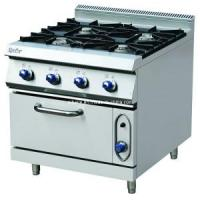 Buy cheap Gas Range with 4-Burner&Oven (SBL-900-RQ-4) from wholesalers