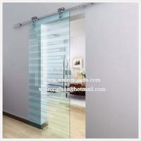 Wholesale Office Sliding Glass Door with Tempered/Toughened Glass from china suppliers