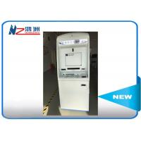 China China ID card self service kiosk gift card dispenser 19 TFT-LCD white blue for sale