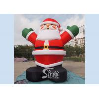 Wholesale 5m high giant inflatable santa claus for Christmas outdoor promotions made of best material from china suppliers