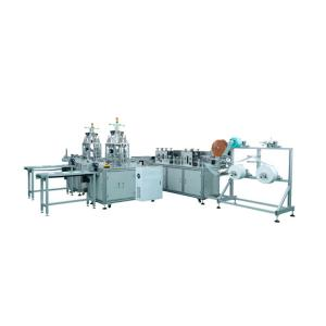 Wholesale Flat Ribbon Earloop 3 Layers Face Mask Making Machine from china suppliers
