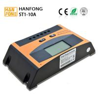 24V 10A PWM Solar Charge Controller High Voltage with LCD Display for sale