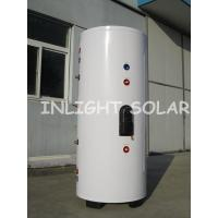 Color Steel Solar Water Heater Tank With 400 Liter Capacity , Double Copper Coil for sale