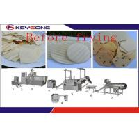 Wholesale Fully Automatic Doritos Chips Making Machine , Fried / Dried Corn Tortilla Making Equipment from china suppliers