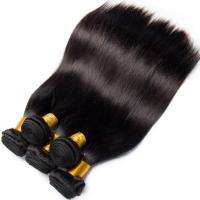 Double Weft Straight Virgin Human Hair Bundles 8A Grade Free Tangle No Shedding