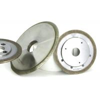 Wholesale Bronze Metal Bond Grinding Wheels Sapphire Ferrite Refractive Slot Shaping Usage from china suppliers