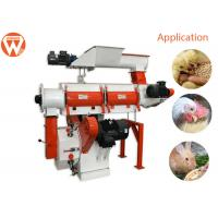 China 2.5 Tph Poultry Animal Food Pellet Machine / Chicken Pellet Machine Customized Voltage on sale