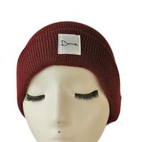Wholesale Popular high quality customized logo and color blank winter knitted  hats caps from china suppliers