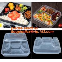 Wholesale Supermarket display wholesale storage fruit food defrosting plastic tray,manufacturer supply bpa free reusable 3 compart from china suppliers