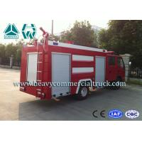 Economic Special Seat Water Foam Pumper Rescue Fire Truck With Hw Transmission