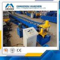 Best High Performance Door Frame Roll Forming Machine PLC Control With Hydraulic Cutting wholesale