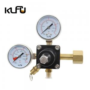 Wholesale Inlet Thread W21.8 CO2 Beer Regulator For Soda Fountain from china suppliers
