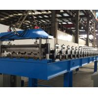 Best 5 Tons Roof Panel Roll Forming Machine 1.0 Inch With Film System wholesale