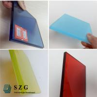Wholesale China glass factory supply high quality color eva film laminated glass suppliers from china suppliers