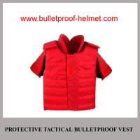 Wholesale Wholesale Cheap China NIJ Army Police Red Protective Tactical Bulletproof Jacket from china suppliers