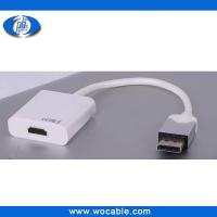 China DisplayPort DP Male to HDMI Female Converter Adapter Cable on sale